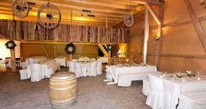 Hochzeitsfest in der EventFarm auf dem Pfannenstiel