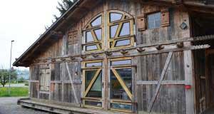 Aussenansicht der AlmeEvent Hütte